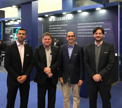 Equipe DBK – Lucas Botelho, Hilário Soldatelli, Ricardo Costin e José Guilherme.